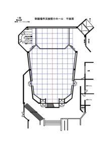 【御殿場】小ホール全体図面のサムネイル